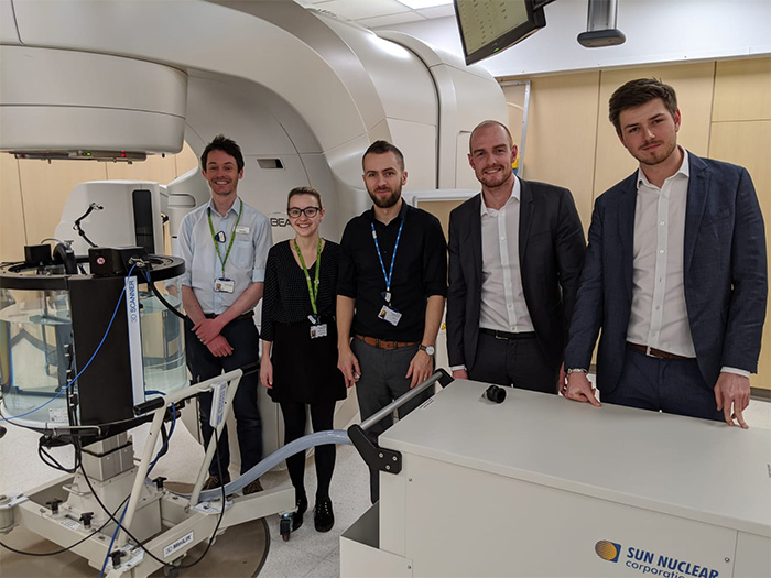 Clatterbridge Cancer Centre Partner with Sun Nuclear and Xiel in the UK