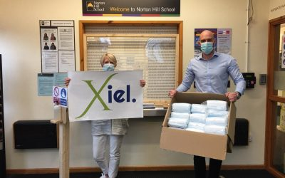 Xiel donate 5000 masks to local schools