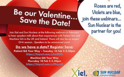 Xiel and Sun Nuclear Webinars – Register Now!