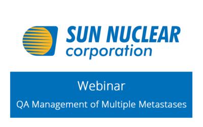 Sun Nuclear Webinar – QA Management